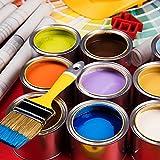8 Pack Empty Metal Paint Cans with Lids Paint