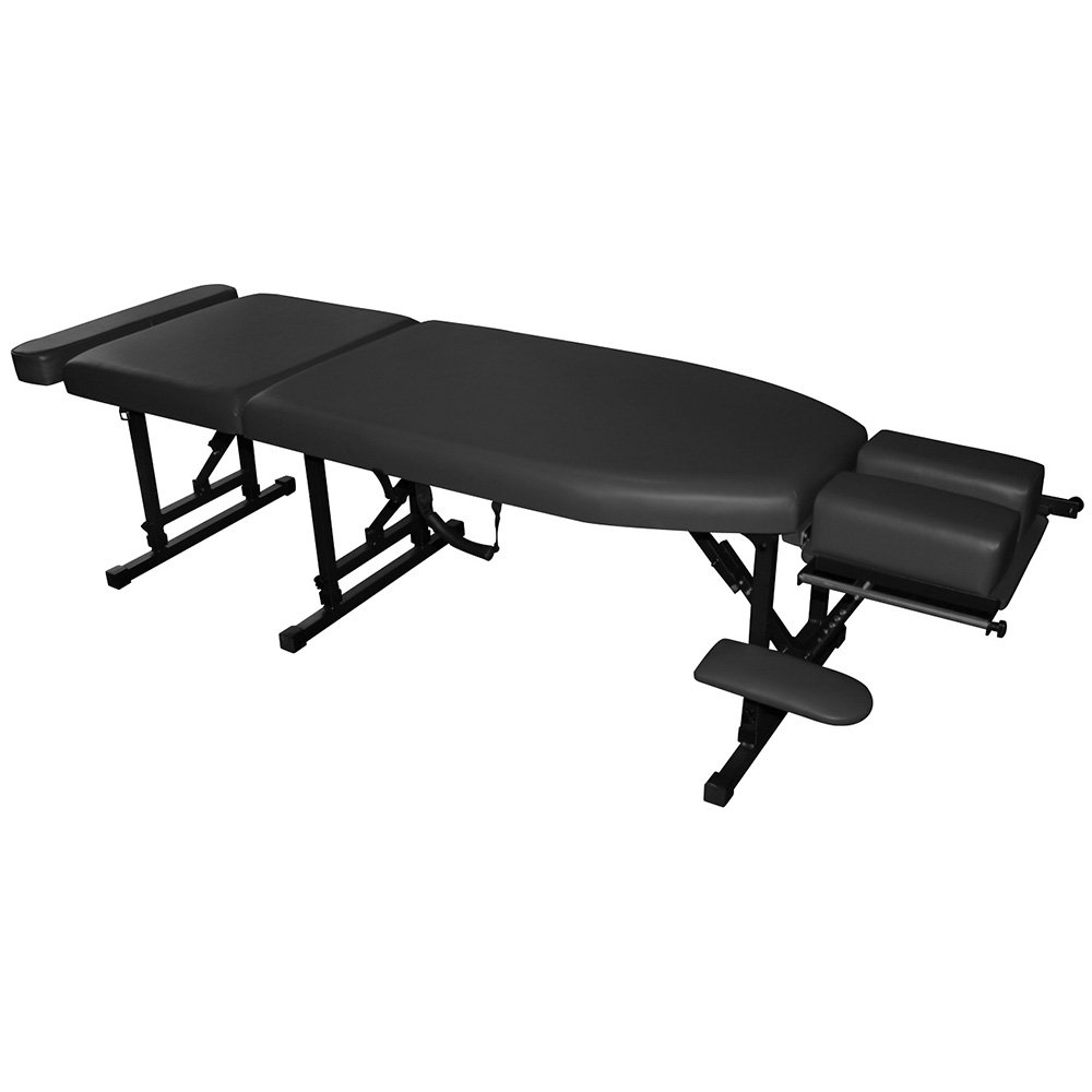 Royal Massage Sheffield 160 Elite Professional Portable Chiropractic Table Charcoal