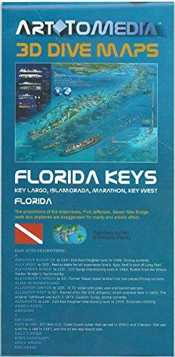 Marathon Florida Keys - Florida Keys 3D Dive Maps Key Largo Islamorada Marathon Key West Shipwrecks