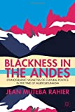 Blackness in the Andes : Ethnographic Vignettes of Cultural Politics in the Time of Multiculturalism, Rahier, Jean Muteba, 1137272716