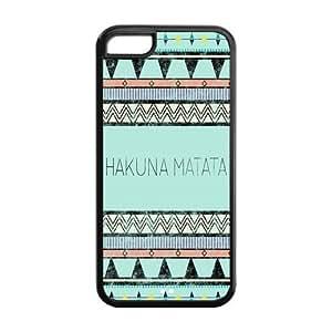 Customize Your Unique Cartoon Hakuna Matata Back Case Suitable for iphone 5C JN5C-1556