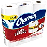 Charmin Unscented Ultra Strong Toilet Paper Mega Rolls, 308 sheets, 9 rolls