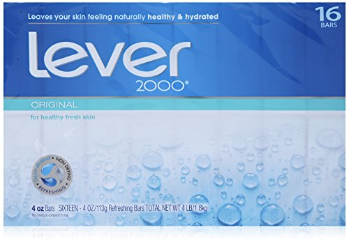 (Lever 2000 Moisturizing Bar, Perfectly Fresh Original, 4-ounce Bars in 16-count Package)
