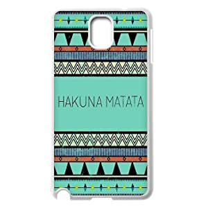 FOR Samsung Galaxy NOTE3 Case Cover -(DXJ PHONE CASE)-Best Wishes - Hakuna Matata Quotes-PATTERN 4