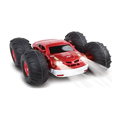 The Black Series Toys for Kids RC Flip Stunt Rally with Remote Controller: Toys & Games