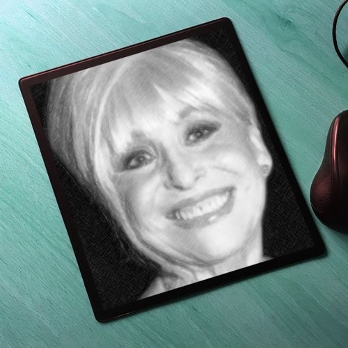 Windsor Canvas Poster - Seasons Barbara Windsor - Original Art Mouse Mat #js005