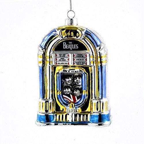 Price comparison product image Kurt Adler Glass Beatles Jukebox Ornament