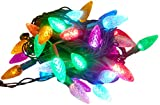 Christmas Concepts 40 Multi Colour Pinecone Lights With Twinkling Effect - Christma
