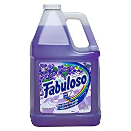 Fabuloso All-Purpose Cleaner Liquid Solution, Purple, Lavender Scent, 128 fl. oz. 4 quart