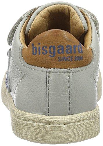 Bisgaard Klettschuhe - Zapatillas Unisex Niños Grau (400-1 Light grey)