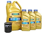 BLAU J1A4021-D Jaguar XJR Motor Oil Change Kit - 2004-09 w/ 8 Cylinder 4.2L Engine