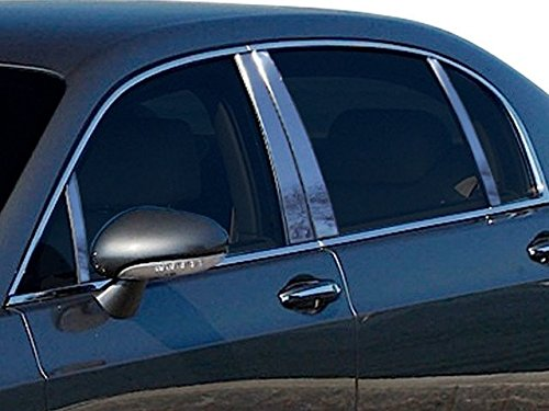 QAA fits 2006-2012 Bentley Continental Flying Spur (8 Piece Stainless Pillar Post Trim) PP26999