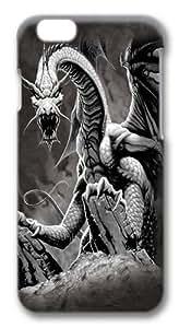 Black Dragon Custom iphone 6 plus 5.5 inch Case Cover Polycarbonate 3D