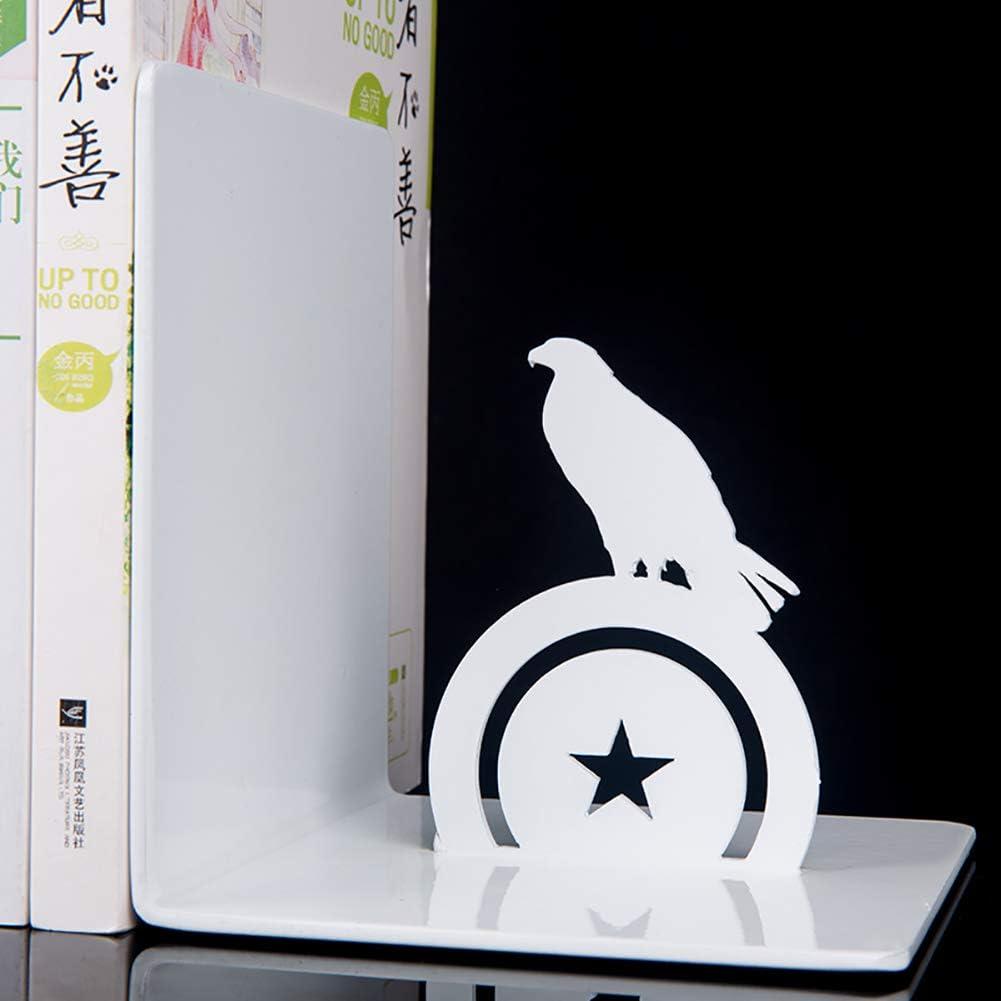 JIAOXM Pas-Glisser Super-h/éros Serre-Livres,Design Cr/éatif,Cool Anime Fan Book Shelf D/écoration,d/écoration en M/étal De Salon De Chambre /à Coucher-e