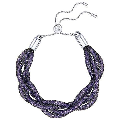 Swarovski+5239028+Stardust+Braided+Bracelet