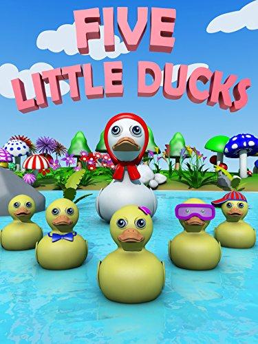 (Five Little Ducks - Nursery Rhymes Video for Kids)