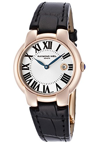 Raymond Weil Women's 5229-PC5-00659 Jasmine Analog Display Swiss Quartz Black Watch