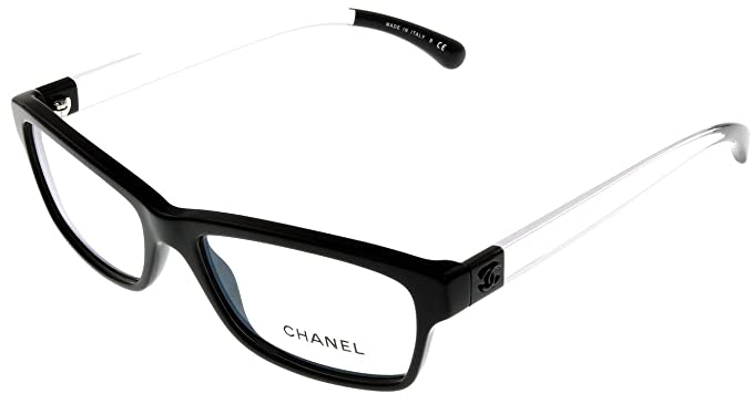 a96f351009 Image Unavailable. Image not available for. Colour  Chanel Prescription Eyeglasses  Frame Black ...