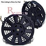 7 electric fan kit - Rxmotor High Performance Electric Radiator Cooling Fan Assembly Kit 7