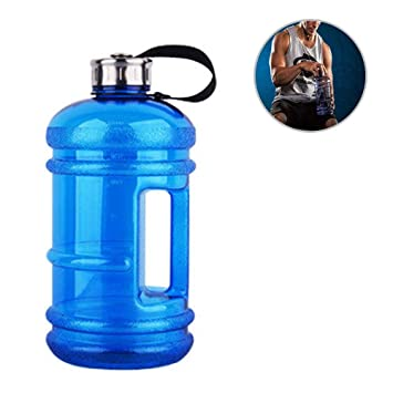Amazon.com: Gallon Botellas de agua para gimnasio, para ...