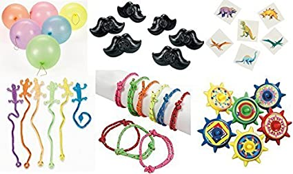 150 piece Kid's Party favor Toy Assortment Bundle Pack, Pinata filler, Grab  Bags, Carnival prizes