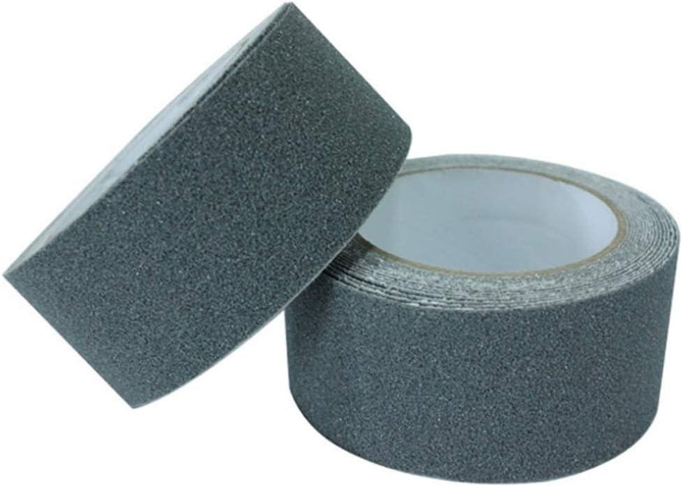 Zaptex Anti Slip Tape Stair Safety Tread Grit Non Slip Tape for Tread Step Indoor Outdoor Black