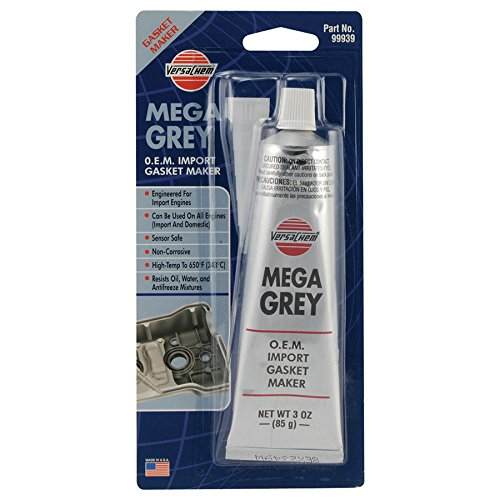 Versachem 99939-12PK Mega Grey OEM Silicone - 3 oz., (Pack of 12) by Versachem