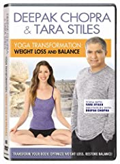 Transform your body, optimize weight loss, and restore your body's natural balance with Dr. Deepak Chopra and yoga fitness expert Tara Stiles! Lead with the breath as you flow through a calorie-burning yoga workout led by Deepak's private ins...