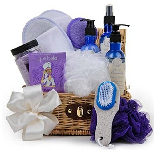 Grand Lavender Refresh & Renew Luxury Spa Basket by GiftBasket by Gift - Online Luxury Shopping