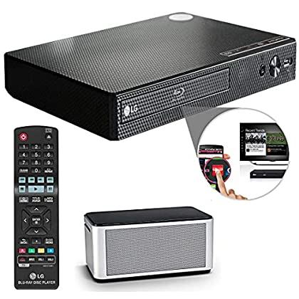 Image of Blu-ray Players OREI LG Electronics BP550 Wi-Fi and 3D Smart Blu-Ray Disc Player and HDMI Cable + Remote
