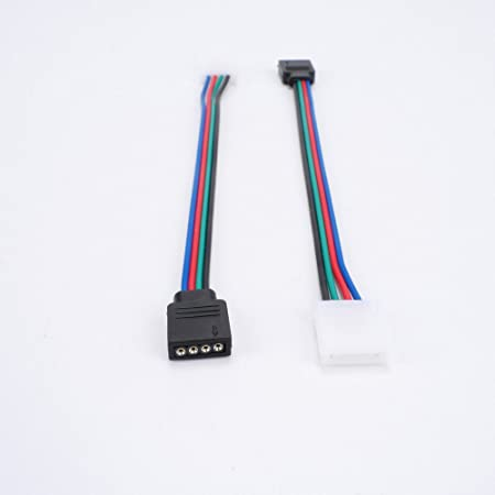 Bulk 10x 2 PIN Connectors Wire Cable Adapter For 3528 5050 SMD LED Strip Lights