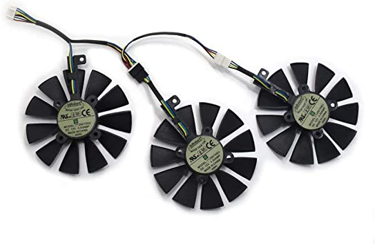 88MM PLD09210S12M And PLD09210S12HH Graphics Card For ASUS Strix GTX 1060 OC 1070 1070Ti 1080 1080Ti RX 480 580 VEGA 64 VEGA 56 Video Card Fan FAN-B 1Pcs