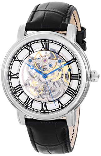 Thomas Earnshaw Men's ES-8040-01 Longcase Analog Display Automatic Self Wind Black Watch