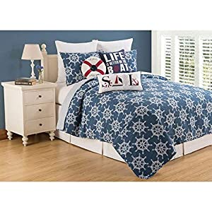 51Z84wVnGIL._SS300_ Coastal Bedding Sets & Beach Bedding Sets