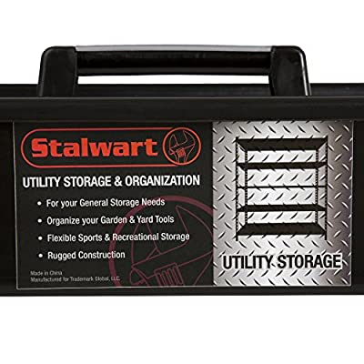 Stalwart 75-ST6017 Portable Plastic Utility Tool and Supply Caddy, Black from Stalwart