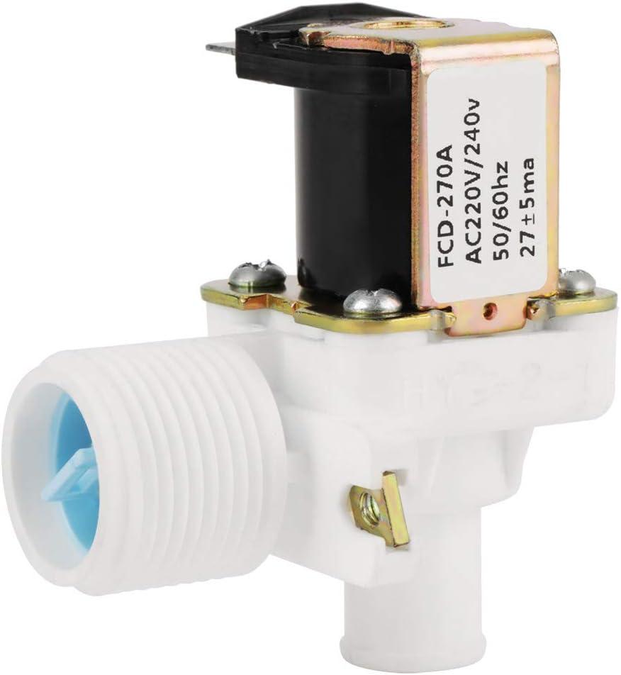 Válvula electromagnética eléctrica de la válvula de entrada de agua FCD-270A para la lavadora AC 220V / 240V BSPP 3/4