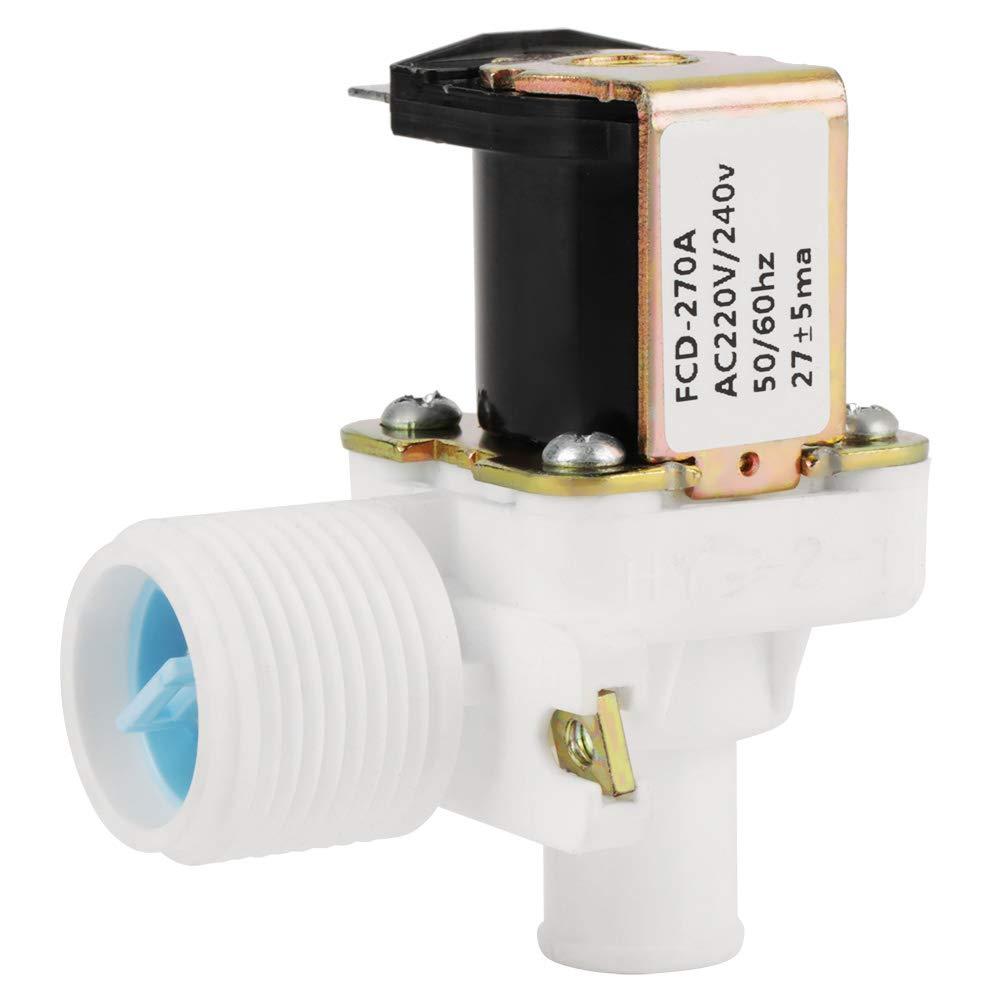 Vá lvula electromagné tica elé ctrica de la vá lvula de entrada de agua FCD-270A para la lavadora AC 220V / 240V BSPP 3/4'50Hz / 60Hz Hilitand