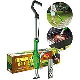 BSI Thermo Kill - Désherbeur Thermique 2000W Vert pour éliminer Facilement et durablement Les Mauvaises Herbes