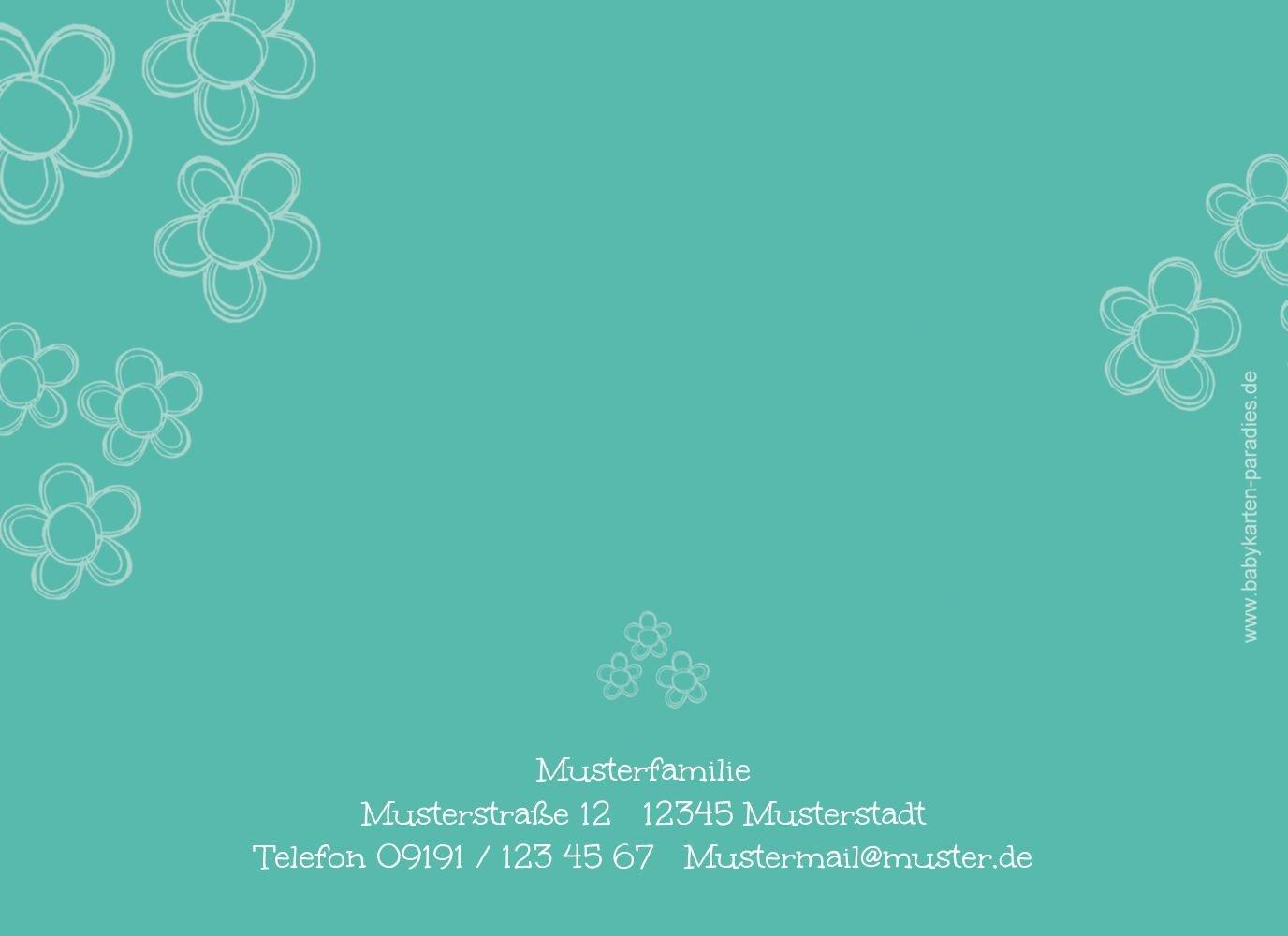 Kartenparadies Danksagung für Geburt Baby Dankeskarte Blüten, hochwertige Danksagungskarte Danksagungskarte Danksagungskarte Baby inklusive Umschläge   100 Karten - (Format  148x105 mm) Farbe  Hellbraun B01MTEZPBX   Schön und charmant    New Listing    Passend In Der Farb 1f1c46