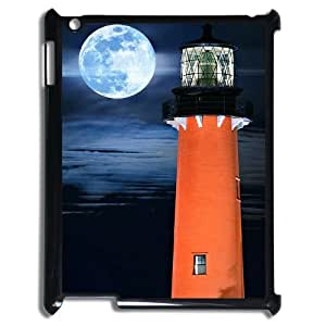 DIYYuli(RM) Unique Design Custom Beautiful Lighthouse Hard Back Cover Case for Ipad 2,3,4 - KkUi051296