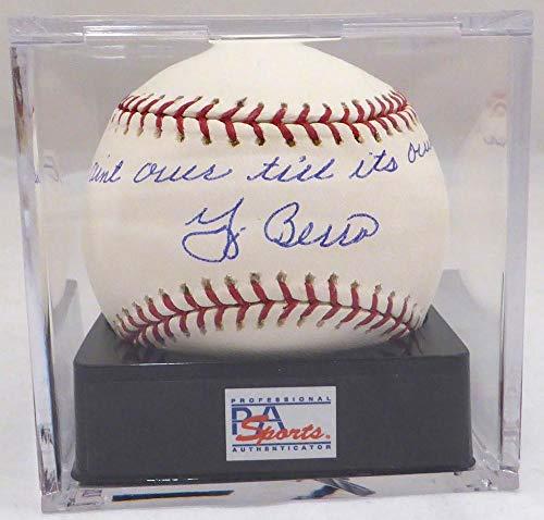 Yogi Berra Autographed Official MLB Baseball New York Yankees