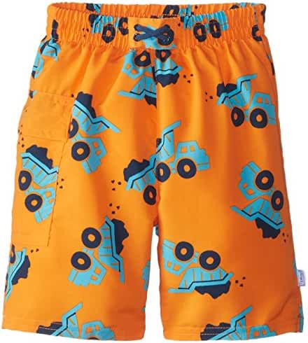 i play. Baby & Toddler Boys' Pocket Trunks with Built-In Absorbent Swim Diaper
