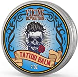 Viking Revolution Tattoo Care Balm for Before, During & Post Tattoo - Safe, Natural Tattoo Aftercare...
