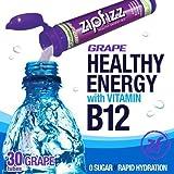 zip fiz grape - Zipfizz Healthy Energy Drink Mix, (Grape, 30-Count) by Zipfizz