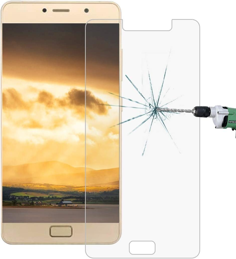 Ruanmaoshi Mobile Accessories 100 PCS for Lenovo P2 0.26mm 9H Surface Hardness 2.5D Explosion-Proof Tempered Glass Screen Film Phone Products