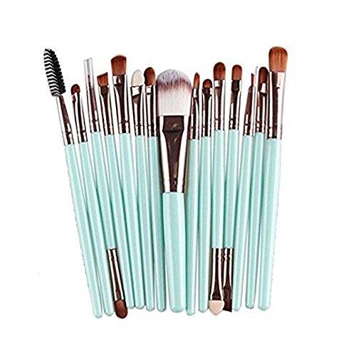 15PCS pennelli trucco professionale cosmetici set ombretto pennelli pennello per fondotinta in polvere Xiton