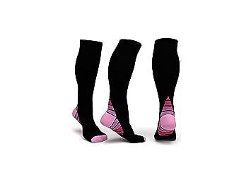 Calcetines de compresión para hombres y mujeres 1 par Medias de compresión & aumentar el rendimiento