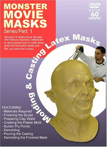 [Monster Movie Masks - Molding & Casting Latex Masks] (Special Effects Makeup Supplies)