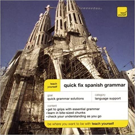 Pda ilmaiseksi ebook download Teach Yourself Quick Fix Spanish Grammar 0071419993 PDF iBook