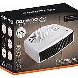 Daewoo Portable Fan Heater 3kW